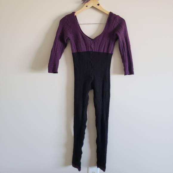Yumiko Other - Knitted Harmonie Warm-Up Overalls